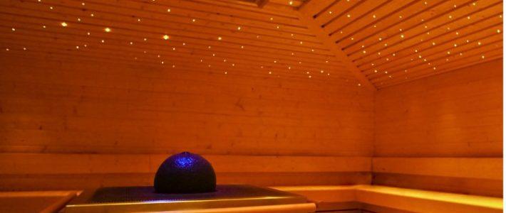 Sauna en zomer
