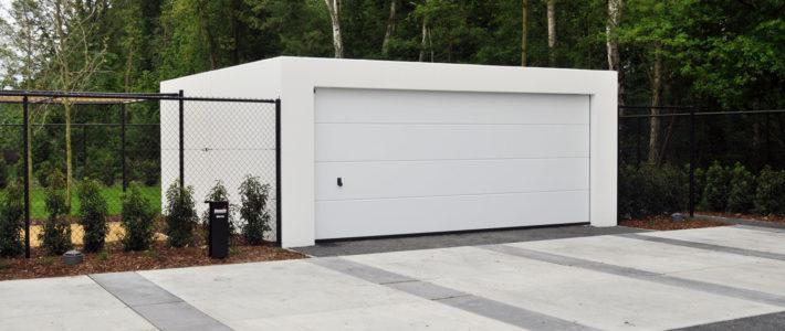 Een prefab garagebox; snel en budgetvriendelijk